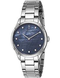Fjord Analog Black Dial Women's Watch-FJ-6033-11