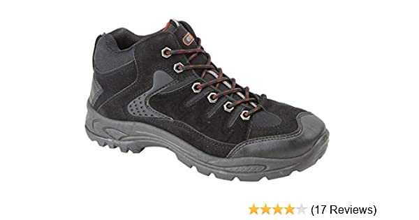 71ff3275537 Dek Mens Boys Hiking Boots Walking Ankle Trekking Trail Trainers Shoes UK  6-12