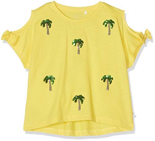 jonja Ss Short Top Box T-Shirt, Gelb (Primrose Yellow), 122/128 (Herstellergröße: 122-128) ()