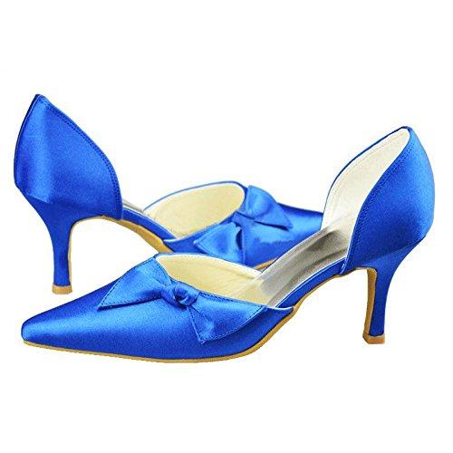 Kevin Fashion ,  Damen Modische Hochzeitsschuhe Blau