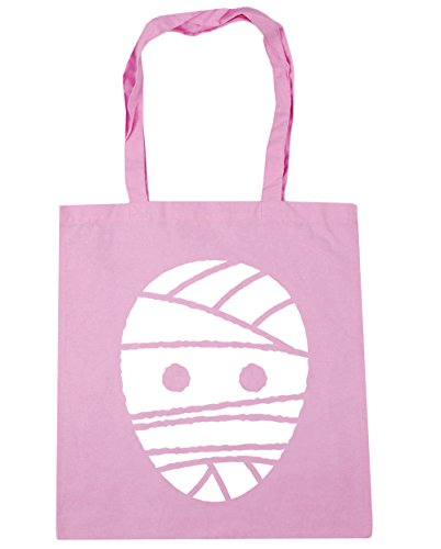 ween Mummy Tote Shopping Gym Beach Bag 42 cm 38 38, 10 Liter, Classic Pink, One Size (Frankenstein Halloween-maske)
