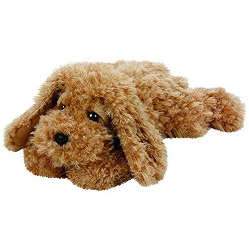FidgetGear TY Beanie Boos 33cm Glubschi Baylee Hund hell braun Stofftier Plüschtier as picture show One -