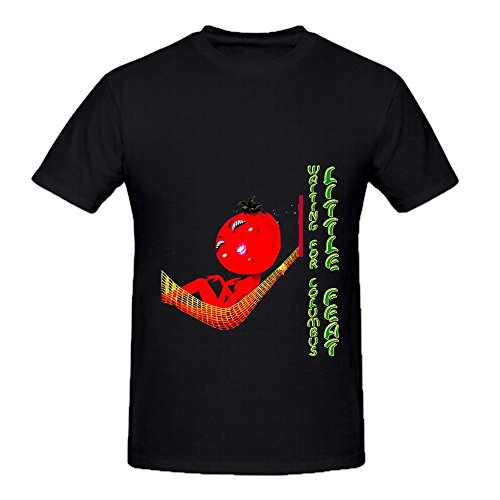 little-feat-waiting-for-columbus-roll-men-o-neck-cute-tee-shirts-large