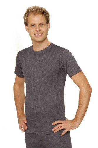 OCTAVE® Mens Thermal Underwear Short Sleeve T-Shirt / Vest / Top
