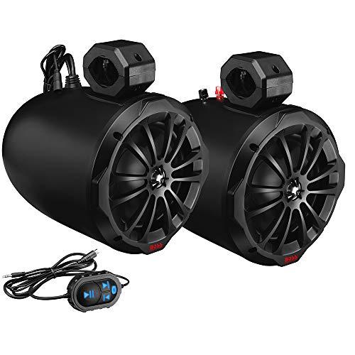 BOSS Audio Systems B82ABT Amplified Wakertower Lautsprecher - Bluetooth, 8
