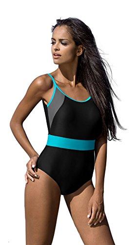 Donna Sport Costume un Pezzo Costumi da Bagno LO26S Stile V11