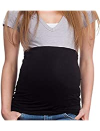 Ducomi Fascia Gravidanza per Coprire e Tenere al Caldo la Pancia - Copripancia Geniale per Colmare Lo Spazio tra Maglia e Pantaloni Durante la maternità e Allattamento