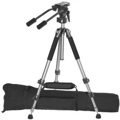 Ravelli AVT Treppiede Professionale per Videocamera da cm 170, con Testa per...