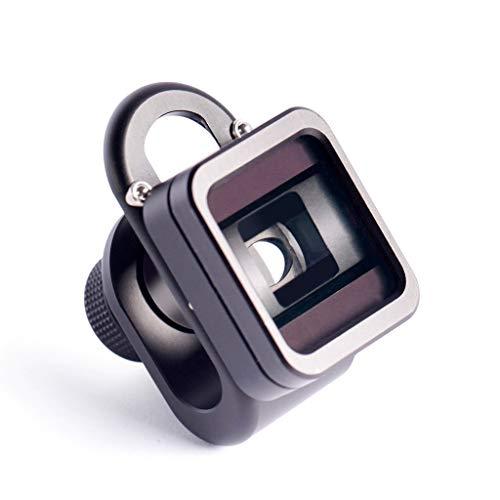 1,33X Breitbild-Linse für Handys mit Verformung, universal, Weitwinkel-Clip, Verzerrungs-Kameraobjektiv für iPhone Samsung Smartphones Android Deformations-Breitbild-Objektiv 1.33