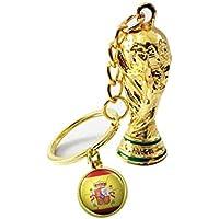 gaeruite 2018 - Llavero con diseño de Copa del Mundo de fútbol, accesorio para colgar