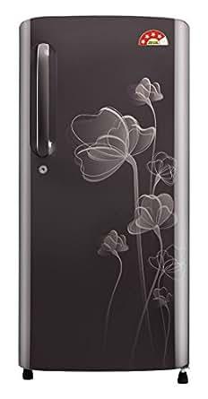 LG 190 L 4 Star Direct-Cool Single Door Refrigerator (GL-B201AGHP.AGHZEBN, Graphite Heart)