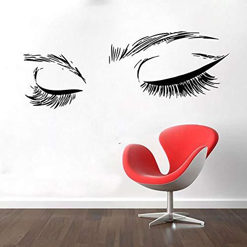 Salón belleza Mujer Cara Pestañas Cejas Cejas Calcomanías