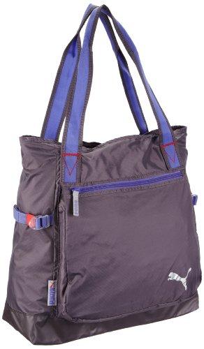 PUMA Damen Sporttasche Fitness Shopper, excalibur gray-violet storm, UA, 22 liters, 070377 02