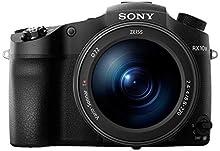 """Sony DSC-RX10M3 Fotocamera Digitale Compatta Premium con Sensore da 1"""", Ottica Zeiss 24-600 mm F2.4-4.0, Zoom Ottico 25x, Video 4K, Nero"""