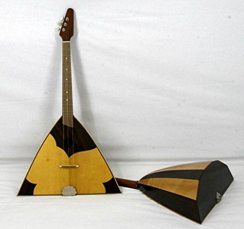 Musikalia luthier-crafted Russisch-saitig Balalaika mit vorgezeichnet und eingelegten Sound Board