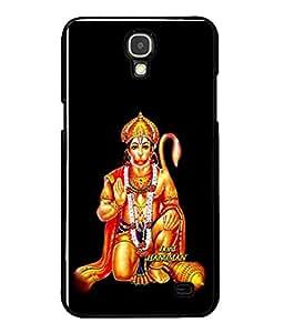 Fuson Designer Back Case Cover for Samsung Galaxy Mega 2 SM-G750H (Pawan Putra Gadadhari Shri Ram Vaanra)