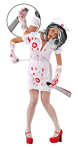 Imagen de folat  disfraz para mujer zombi, talla m l 23733  alternativa