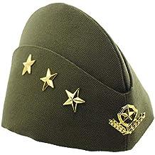 BESTOYARD Cappello Marinaio Donna Cappello Hostess Costumi di Halloween  (Verde Militare) 02fdd5fd8cd8