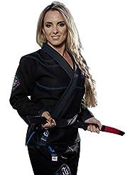 War Tribe mujer de Jiu-Jitsu Brasileño Black Finesse