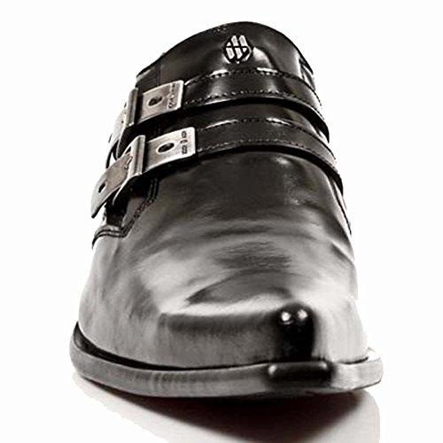 New Rock Newman Schwarz Schuhe M.2246-S10 Black