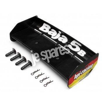 Preisvergleich Produktbild Wing Set (black / baja 5b) by HPI Racing