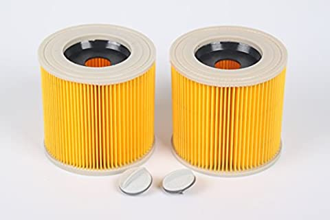 Generic Replacement Cartridge Filter for Karcher WD2200 WD2240 A2200 VC6200 Wet & Dry Vacuum Cleaners,Compare to Part # KAR64145520 (Pack of