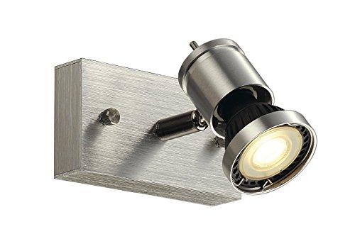 SLV Spot, Aluminium, Aluminium brossé, 1-flammig, GU10 230volts