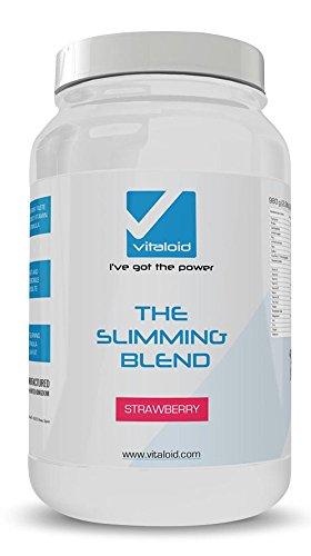 The Slimming Blend 980gr - Batido proteína dieta - Fresa - Sustituto de comida con todos los nutrientes y mínimas calorías