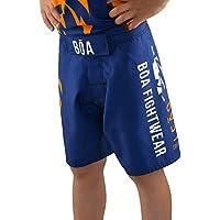 BOA Leão fightshort Short de Combat niño, Color Azul, tamaño FR : XS (Taille Fabricant : 8Y)