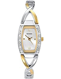 Sekonda Women's Quartz Watch with Silver Dial Analogue Display and Multicolour Bracelet 4605.27