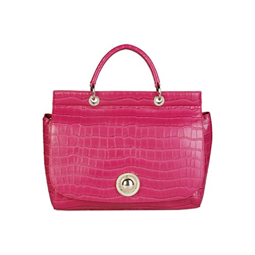 Versace Jeans Ee1vpbbc3_e75587, Borsa a Mano Donna, 14x26x31 cm (W x H x L) Rosa