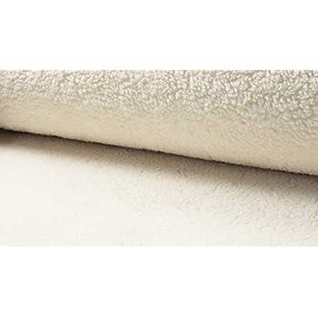 Fleece  Plüsch  Baumwolle  schwarz  50x150cm