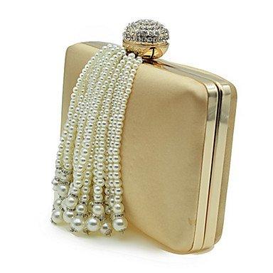 Frauen Polyester formale Veranstaltung/Party Hochzeit Abend Tasche Gold