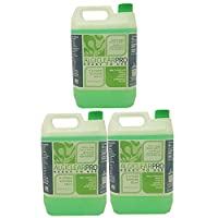 Algiclear Pro The Professional Moss Algae Mould Liverwort Killer - Ready to use 3 x 5 litre- Total coverage 180 Square Metres. For Roof Tiles, Patio, Decking, Walls, Paving And Outdoor Surfaces.