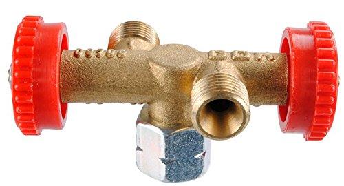 Preisvergleich Produktbild GOK Abzweigventil PS 4 Bar, 2 Abgänge, G 1/4 LH-Üm X X X G 1/4 LH-KN, 310/802-1
