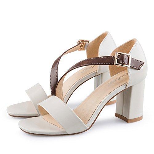 Mot Dété Avec Des Chaussures/Ladies Chunky Heels Sandales A