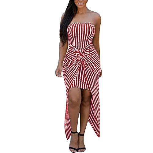 Wawer Sommer Ärmellos Sling Damen Sommer Mode Kleider Sexy Geschlossene Streifen Taille Zebra Niedrige Brust Bedruckte Kleider Kurzer Rock Kleid -