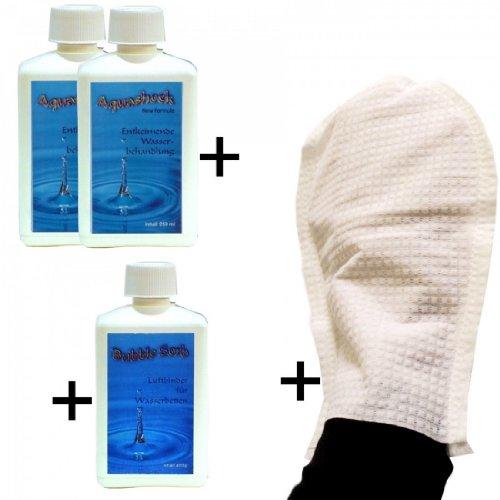set-pulizia-acqua-letto-2-aqua-shock-acqua-letto-disinfettante-1-aria-leganti-bubble-top-cura-mano-s