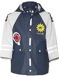 Playshoes Waterproof Raincoat, Rain Jacket Police - Chubasquero para niños