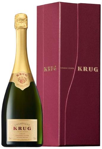 KRUG Grande Cuvée Champagner Brut mit Geschenkverpackung (1,5 L)