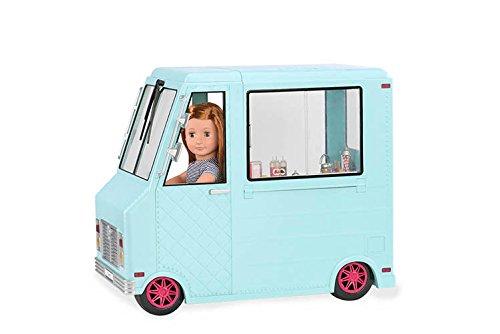 Our Generation - BD37252Z - Camion de Glaces pour Poupée 0793631213719