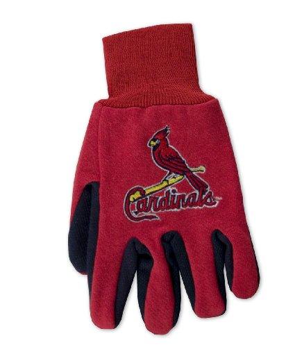 Wincraft MLB Handschuhe zweifarbig, Herren, rot, MLB St Louis Cardinals (St Louis Cardinals Gear)