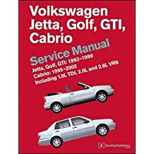 [(Volkswagen Jetta, Golf, GTI 1993-1999 Cabrio 1995-2002 Service Manual)] [By (author) Bentley Publishers] published on (April, 2011)