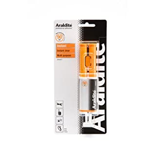 24ml Instant Clear Adhesive Syringe by Araldite