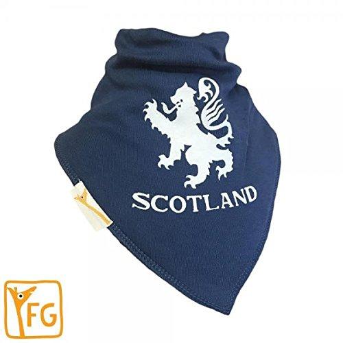 Funky Giraffe blau Schottland Bandana Lätzchen - Funky Bandana