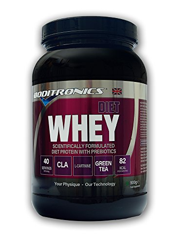 Boditronics Diet Express Whey Protein Powder, Cherry Liqueur