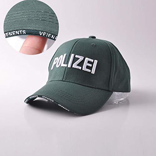 FHSOHG Neue Qualität Police Tactical Cap Herren Baseball-Kappen Marke Trucker Hut für Mann Frauen