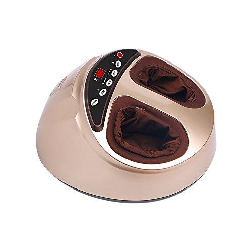 Fuß SPA Bad Massagegerät, ettgear Multifunktions Wärme Infrarot vibrierender Air Bubble Elektrische Fuß Massagegerät Fuß Shiatsu für Fuß, Knöchel, Bein, Kalb, etc.... (360 Fuß-massagegerät)