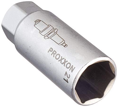 """PROXXON 23552 Zündkerzen Nuss mit TPR Einlage 21mm Antrieb 10mm(3/8"""")"""