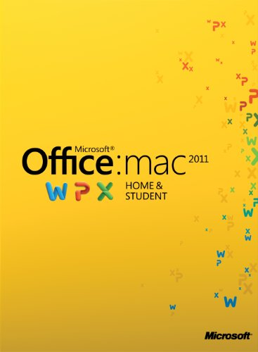 Office für Mac 2011 Home & Student - 1MAC/1User - englisch [Download]